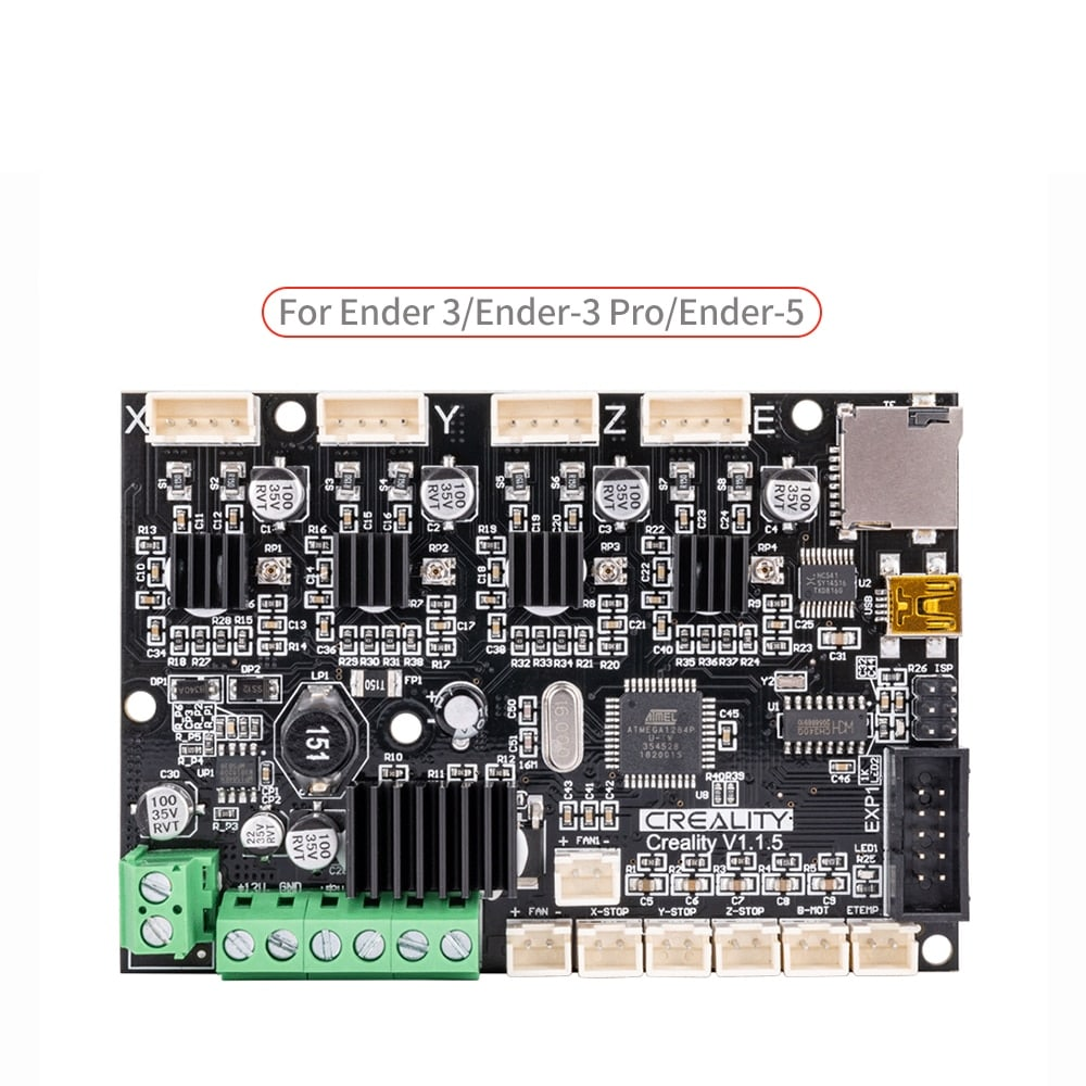 Upgrade Silent 1.1.5 Mainboard for 3D Printer